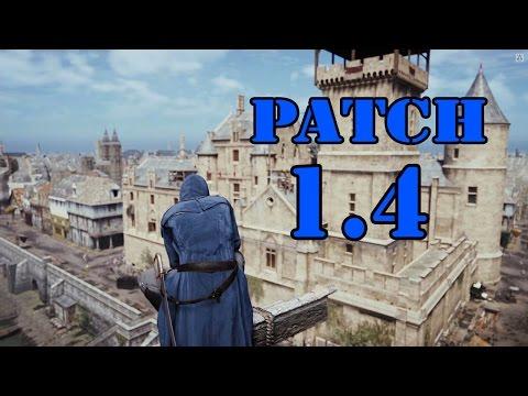 Патч 1.4 для Assassins Creed : Unity (Анонс патча)