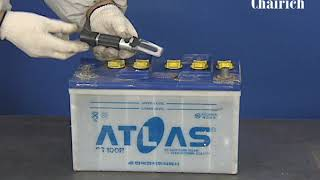 배터리(축전지) 전해액 비중 측정 방법