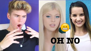 TOP MUSERS (SINGING WITHOUT AUTO-TUNE) Danielle Cohn, Loren Gray, Annie leblanc [REACTION] 2018