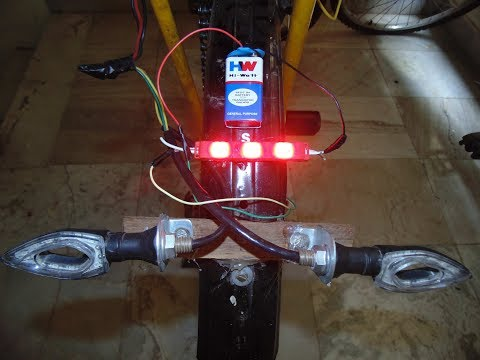 How To Make Brake/Stop Light For A Cycle