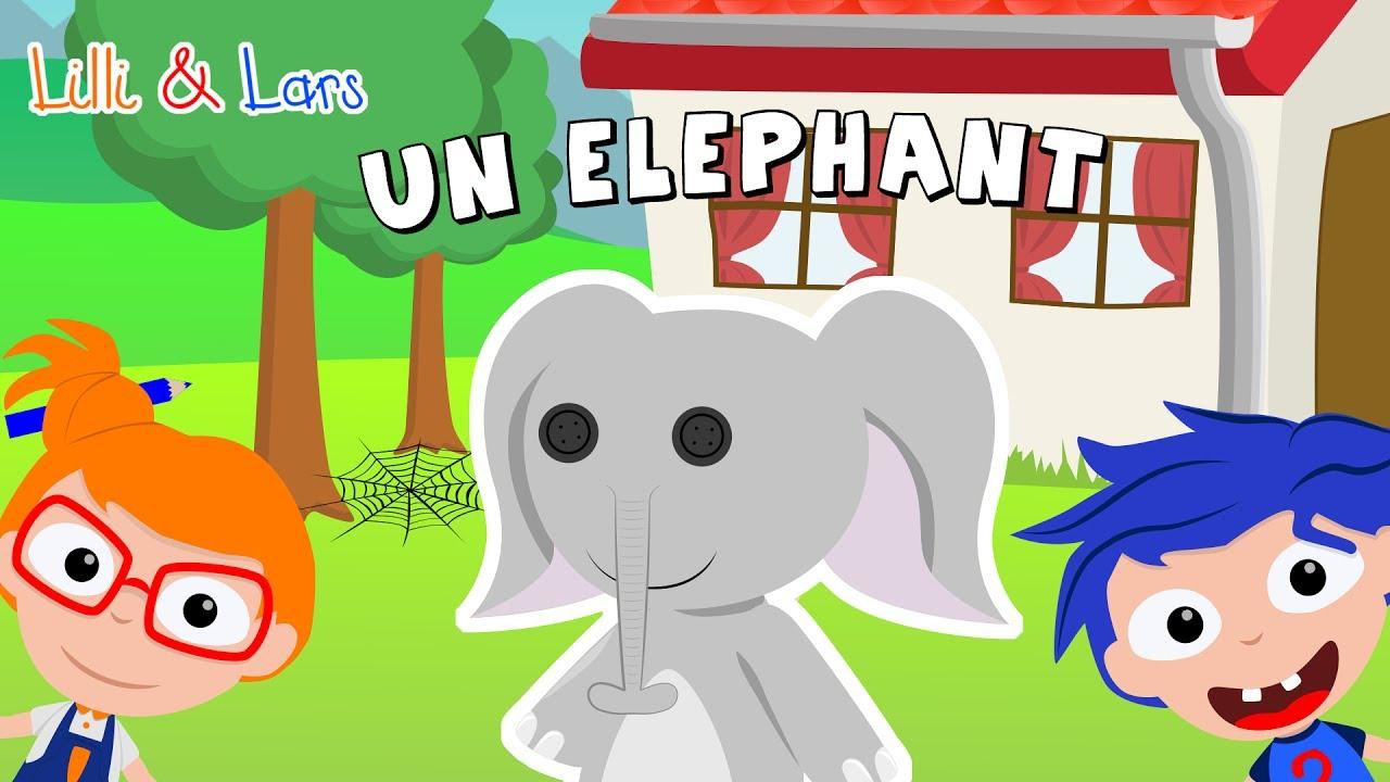 Comptine Un Elephant Qui Se Balancait Chanson Pour Bebe Avec