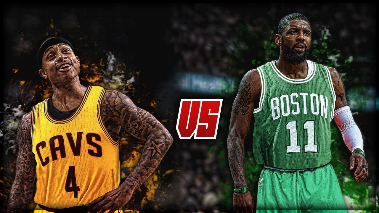 newest 0ae67 0e27a Isaiah Thomas vs Kyrie Irving - WHO IS BETTER?!