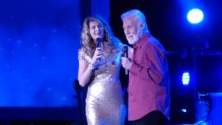 We've Got Tonight Kenny Rogers & Linda Davis@Reading PA Eagle Theater 12/18/16