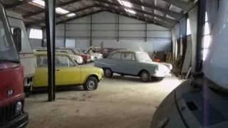 Vergessenes Autohaus; 4 Filme mit Kommentar