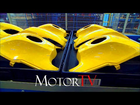 BMW MOTORRAD FACTORY l BERLIN PLANT PRODUCTION l PAINT SHOP & LOGISTIC (NO MUSIC)
