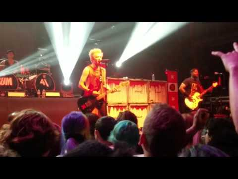 Sum 41 - Live Fillmore Silver Spring 2017 [MY RECORDINGS] (Silver Spring, Maryland HD 720p)
