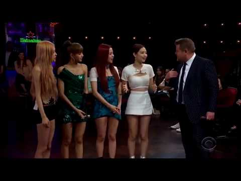 BLACKPINK  THE LATE LATE SHOW WITH JAMES CORDEN