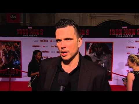 Ashley Hamilton's Official Iron Man 3 Premiere Soundbite