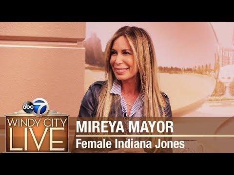 Mireya Mayor | Female Indiana Jones