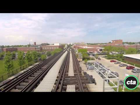 CTA Ride the Rails: Green Line - Garfield to Ashland/63rd in Real Time