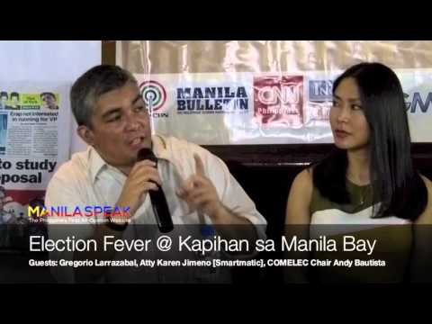 Livestream: Election Fever @ Kapihan sa Manila Bay