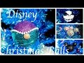 DIY Disney Christmas Balls l Arielle, Mickey Mouse, Minnie Mouse, Nightmare before Christmas