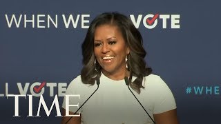 Michelle Obama Drums Up Voter Participation At Las Vegas Rally   TIME