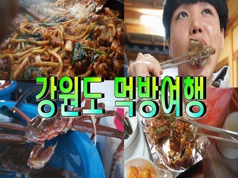 [VLOG] 강원도 먹방여행 춘천닭갈비,막국수,회 먹방 SINCOOK-신쿡[김신도]