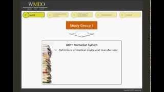 GHTF/IMDRF: The Pre-Market Model