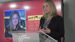Inspiring women in the car industry - keynote speech - Ford COO Barb Samardzich | Autocar