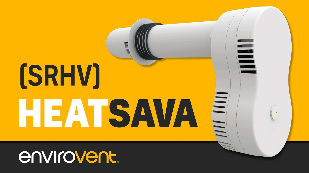 Heatsava Single Room Heat Recovery Ventilation Srhr Youtube