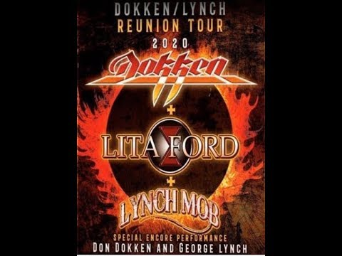 DOKKEN, LITA FORD and LYNCH MOB U.S. tour in 2020 ..!!