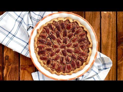 Gluten-Free Pecan Pie - Healthy Thanksgiving Dessert - It's Raining Flour Episode 150