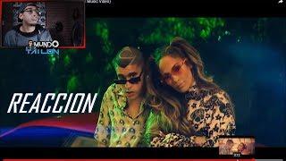 [Reaccion] Jennifer Lopez & Bad Bunny - Te Guste (Official Music Video)