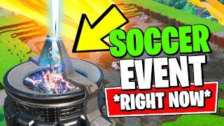 FORTNITE SOCCER FIELD EVENT IS HAPPENING *RIGHT NOW* (Fortnite *NEW* RIFT ZONE LEAKED)