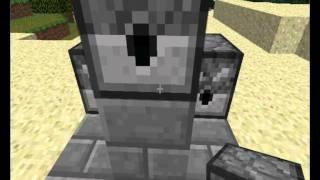 Пулемет из раздатчика в Minecraft(Как сделать пулемет в Minecraft., 2011-11-21T18:23:08.000Z)