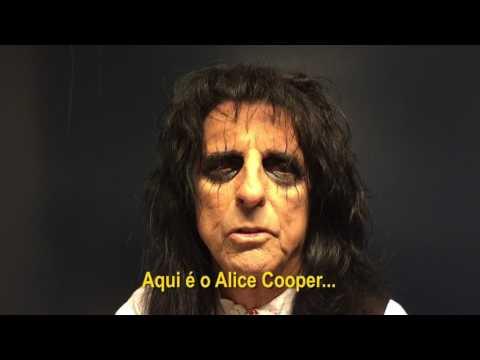 Alice Cooper convida para o São Paulo Trip