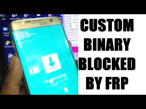 how to fix Custom Binary Blocked By FRP Lock - - vimore org