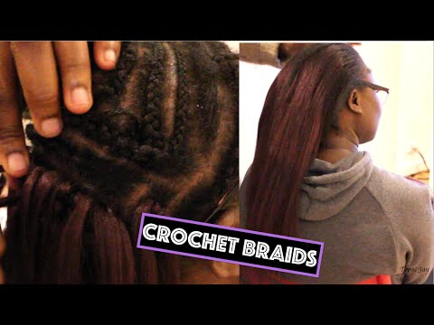 How To Natural Looking Crochet Braids W 3 Part Weaving