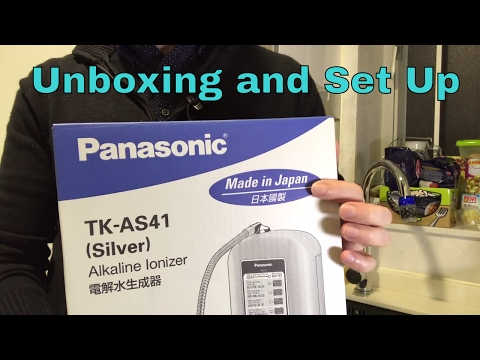 Panasonic Alkaline Ionizer TK-AS41 - Unboxing and Installation - Clueless Dad