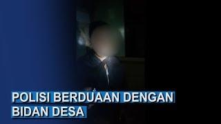 Polisi Kepergok Berduaan dengan Bidan di Nguling