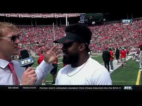 Ezekiel Elliott Interview - Ohio State Spring Football