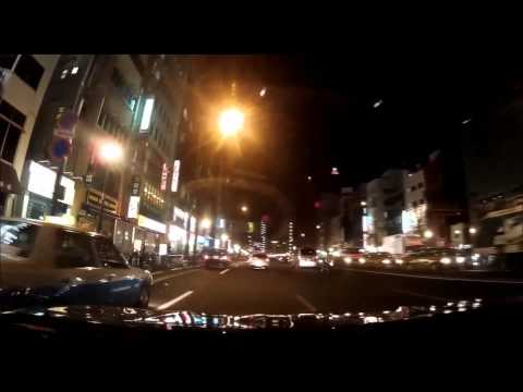 """Tokyo -  Car Cam """"Tokyo by Night Drive"""" (1080p)"""
