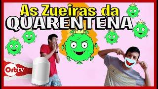 As Zueiras da Quarentena - Compilados da Zueira com o Biel | OrbTV