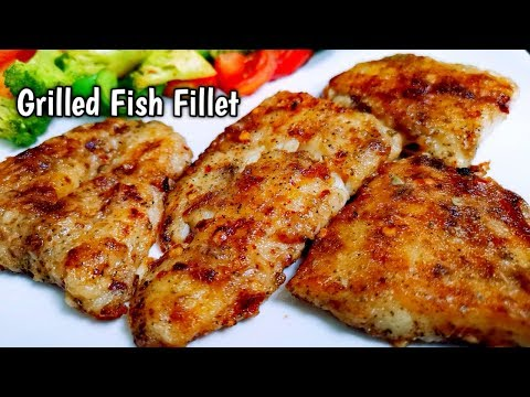 Grilled Fish Fillet - Quick, Spicy And Delicious!