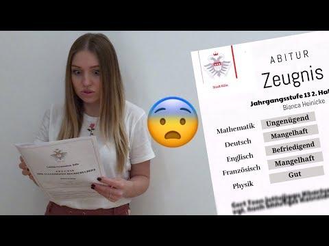 ... mein Abitur-Zeugnis - 400 Fehlstunden ?? 😲 | Bibi