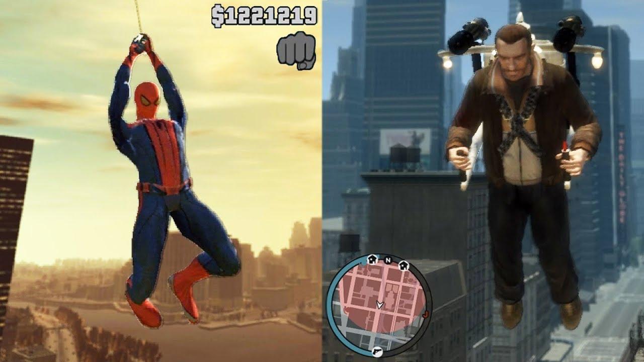 GTA 4 Best Mods! Spiderman, Watch Dogs, Jetpack, Tsunami
