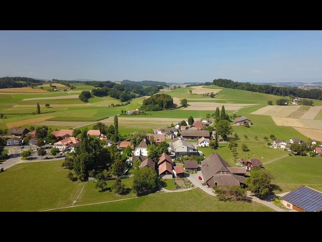 2018-07-30 Ueberstorf - Erster Drohnenfilm