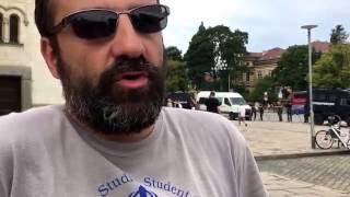 Светослав Риболов за протеста пред ''Ал. Невски''