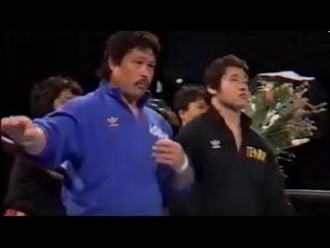 天龍源一郎/阿修羅・原 vsタイガーマスク/仲野伸一 87年10月熊本