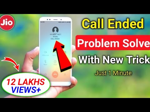 Download Jio Call Ended Problem Solved    How To Solve Jio Call Ended Problem   Call Ended