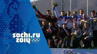 Bobsleigh - Four-Man Heats 3 & 4 - Russia Win Gold | Sochi 2014 Winter Olympics