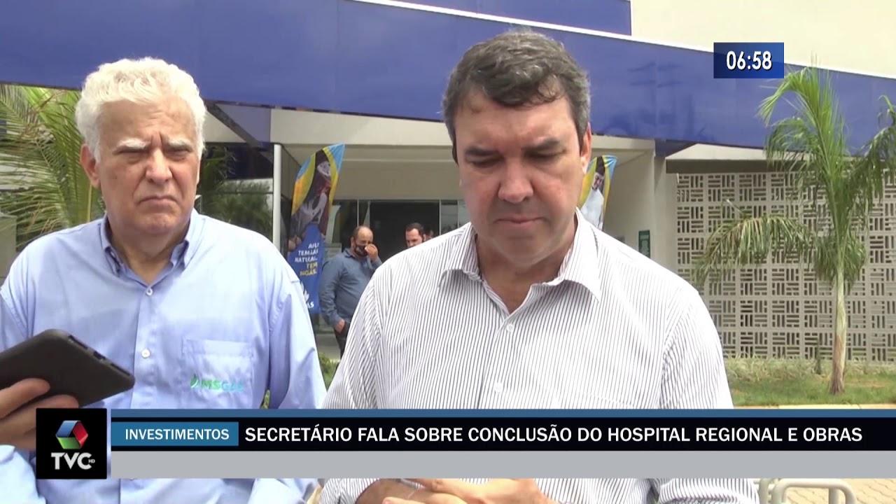 Secretário fala sobre conclusão do Hospital Regional e obras