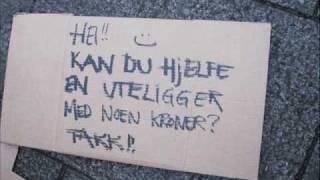 Ute på gata med Kjell i 24 timer. Oslo