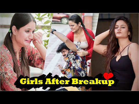 Types Of Girls After Breakup || Namra Qadir || Virat Beniwal
