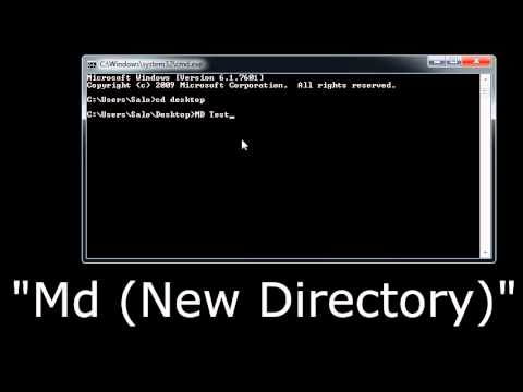 How to Change Command Prompt Directory - YouTube