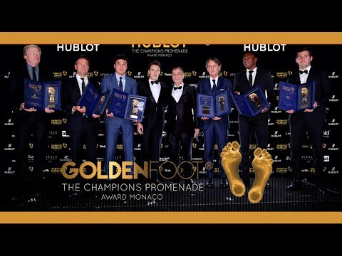 Golden foot Monaco - Iker Casillas - 2017