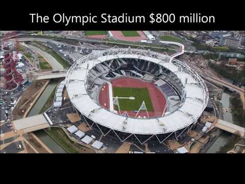 The top 10 most expensive soccer stadium in the world