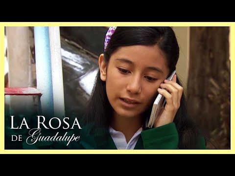¡Gisela pierde la mano por un celular pirata!   Estallido de Amor   La Rosa de Guadalupe