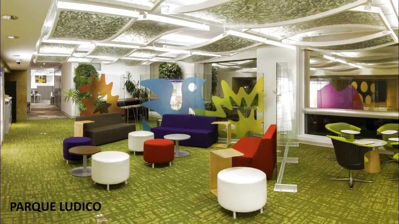 Arquitectura interior unilever m xico youtube for Oficinas de youtube mexico